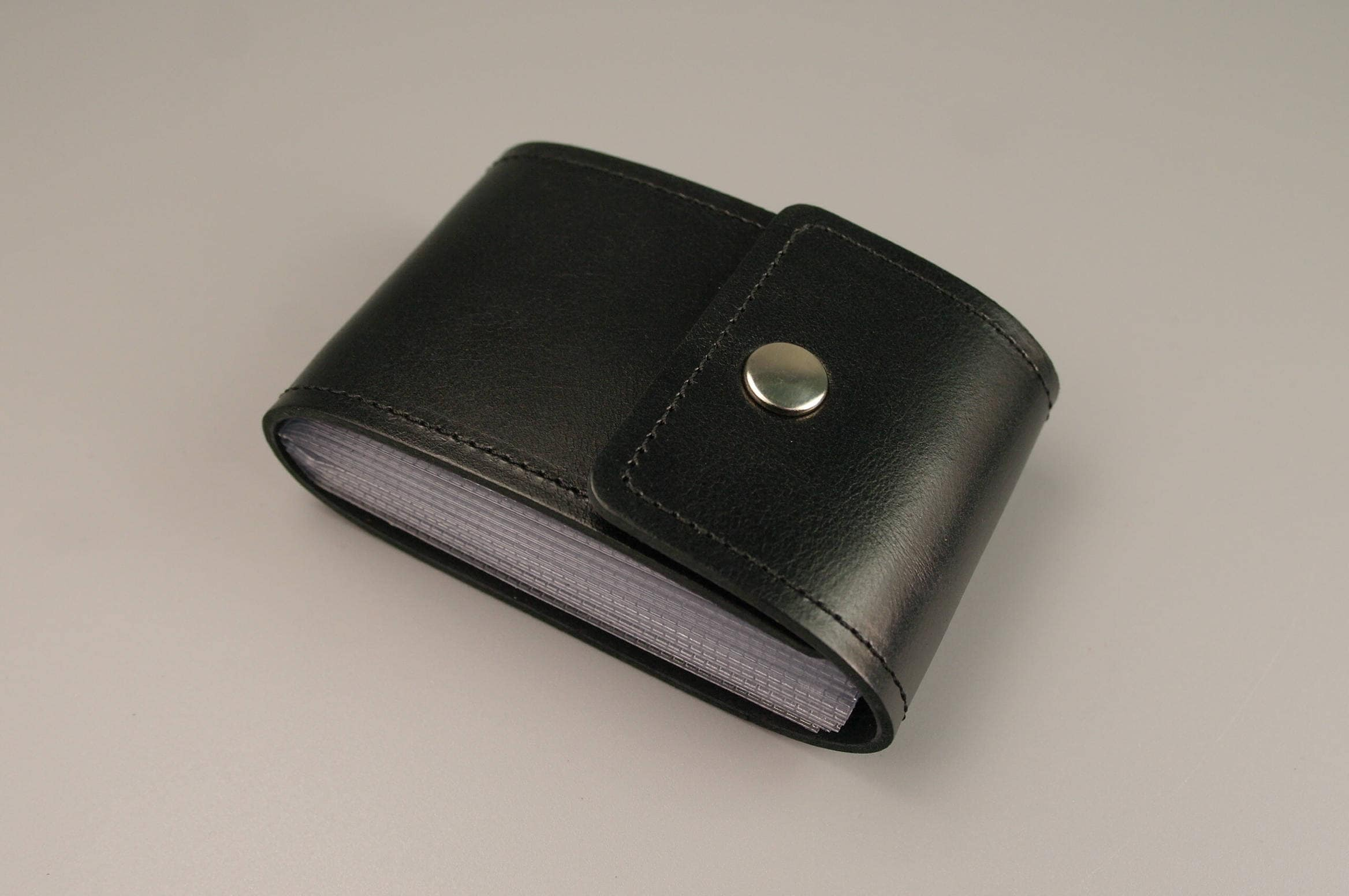 Leather Card Holder PERSONALIZED Credit card wallet Credit