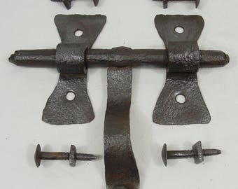 wholesale bolt old iron forged old castel manor 17-18 th church door latch