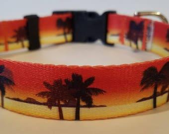 Sunset Dog Collars