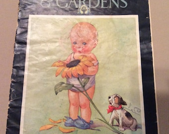 Vintage Better Homes & Gardens July 1930 Magazine Originally 10 cents