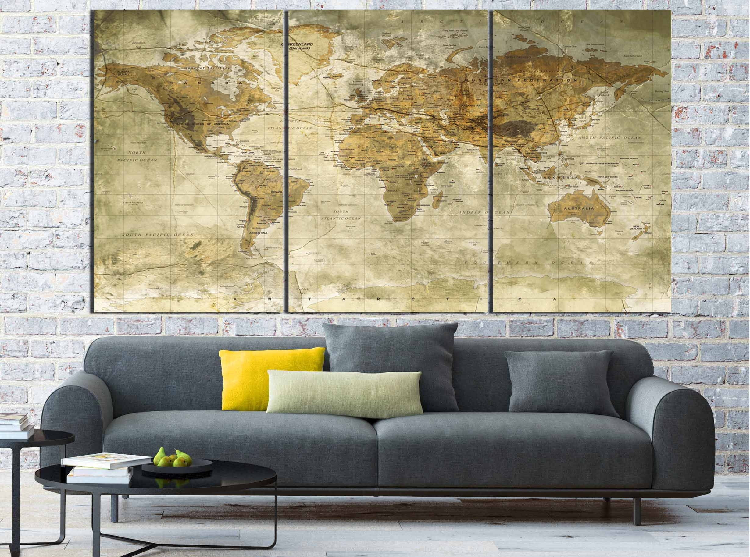 Perfect Large Map Wall Art Mold - Art & Wall Decor - hecatalog.info
