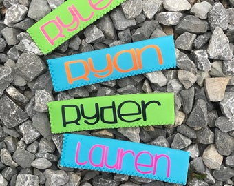 Personalized Popsicle Sleeves, Popsicle Sleeve with Name, Popsicle Holder, Holder for Popsicle