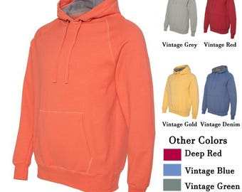 Custom Printed Nano Pullover Hoodies