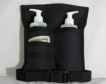 Made to Order - Double/4 Pocket Massage Oil Holster, Any Color