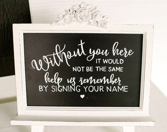 Wedding/Party Guestbook Sign