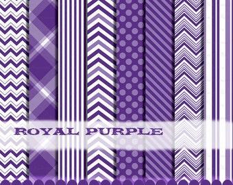 Purple clip art chevron frames digital paper clipart, Chevron clipart purple digital paper photo : p0218 3s3335 IP