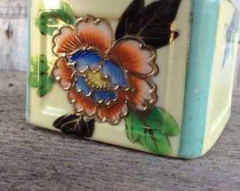 Vintage Japanese ceramic ashtray Tashiro Shoten, Ltd