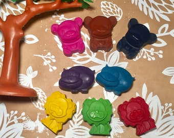 Animal Crayons! Party favors. Zoo Party