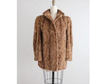 SALE | mink fur coat | 50s mink coat | authentic  mink coat