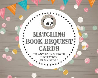 Matching Book Request Card