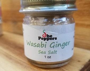 Wasabi Ginger Sea Salt