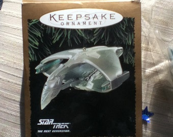1995 Hallmark Romulan Warbird ornament
