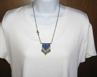 Blue Southwestern Feathers