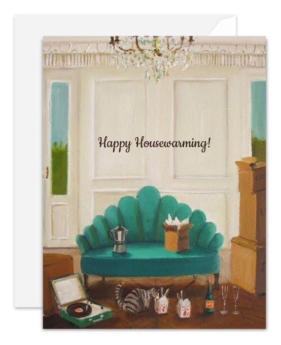 Happy Housewarming Card. SKU JH1143