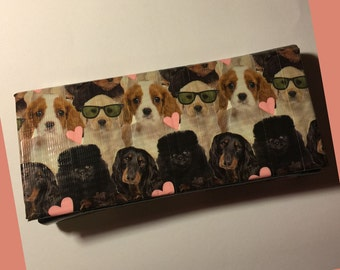 Cash Envelope System: Wallet & Envelopes - Puppies