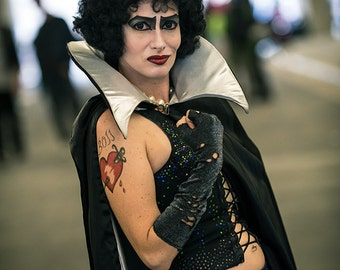 """Rocky Horror Picture Show Frank N Furter """"BOSS"""" Temporary Tattoo"""