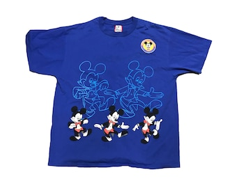 Vintage (1995) Offical Disneyana Convention T Shirt Size (XL)