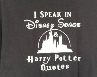 Disney and Harry Potter Shirt