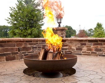 """Ohio Flame 48"""" Patriot Fire Pit (Made in the USA)"""