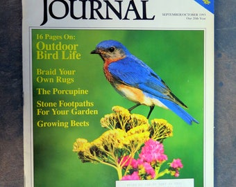 Country Journal Magazine September / October 1993 - Outdoor Bird Life Issue