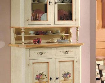 Cupboard and showcase free delivery.
