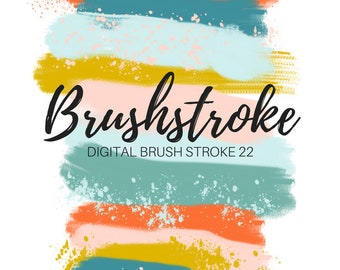 Brush stroke clipart - ink splatter clipart - watercolor clipart - ink blob clipart - commercial use