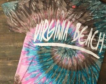 Virginia Beach Tie-Dye T-Shirt