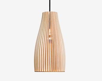 Superior ENA Wooden Pendant Light, Wood Lamp, Spot Light, Wooden Lampshade