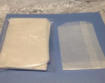 50  3 3/4 x 5 Glassine Bags