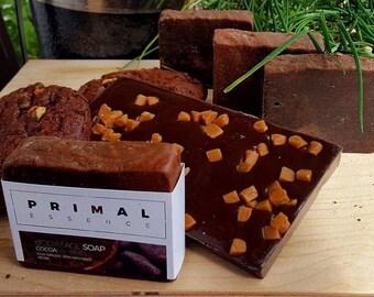 Chocolate Coconut Cream Soap | Cacao Soap | Coconut Milk Soap | Shea Butter Soap | Handmade Soap | Natural Soap | Vegan Soap | Artisan Soap