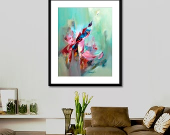 Abstract painting Abstract Printable Art Abstract Painting, Watercolor Original Wall Art Prints, Modern Art Wall Decor, INSTANT DOWNLOAD.