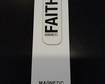 Magnetic Book Mark- Faith Hebrew's 11:1
