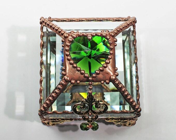 Heart Jewel 2.5x2.5 COPPER