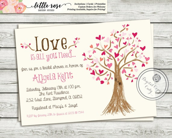 Wedding Invitations Money Gift Wording: Bridal Shower Invitation Wedding Shower Invite
