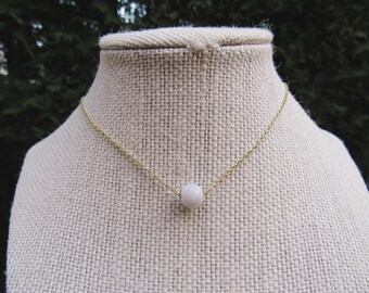 Single Marble Necklace