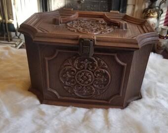 Max Klein Large vintage sewing box