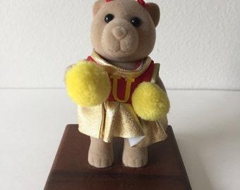 CHEERLEADER BEAR You're #1 Trophy