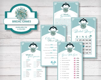 BRIDAL GAMES (5 Game Pack) Capri Sea Green