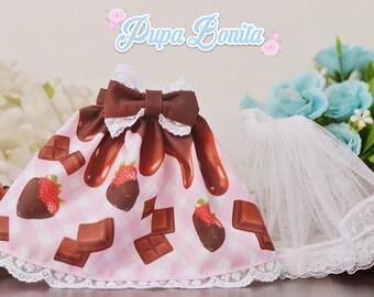 Choco Berry Skirt for MSD/MDD/1/4 Dolls
