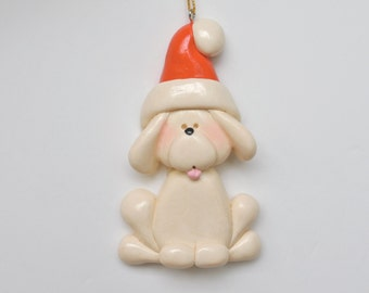Personalized Christmas Puppy Ornament/ Puppy/Dog Ornament/Pet Ornament