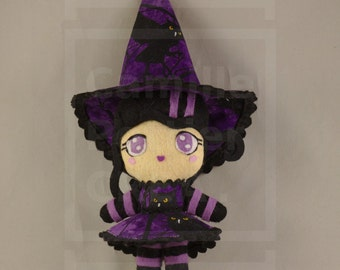 Doll / Witch / Kawaii / Owls / Ooak /