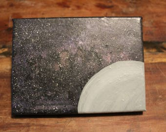 Acrylic Space Painting