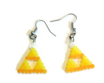 Legend of Zelda Triforce Earrings