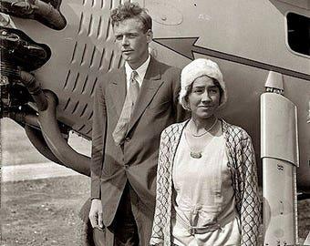 Charles And Anne Morrow Lindbergh Photo