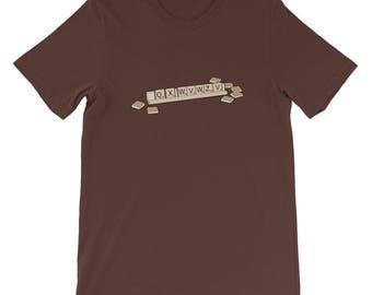 Bad Luck Scrabble Shirt Short-Sleeve T-Shirt Last Man on Earth