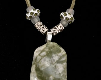 Beach stone necklaces