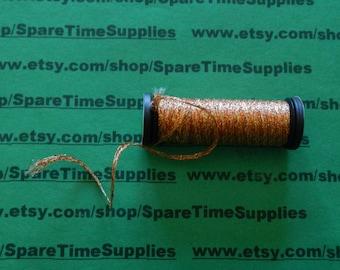 "Kreinik Balger - Ribbon - 1/16"" - yellow/orange - 5.5 yd - 1 spool - #KRB601275-127"