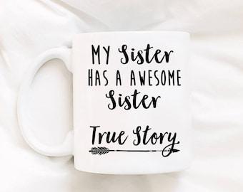 Sister Gifts - Sister Mug - Mug For Sister - Sibling Mug - Gifts For Her - Gifts for Sister - Little Sister Gift - Big Sister Gift