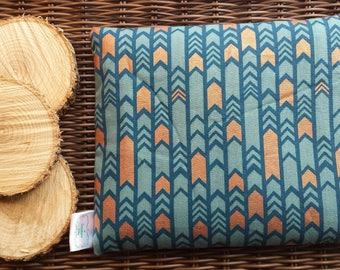 Bag comfort, heating pad, 18 cm X 22 cm, hot, cold, cotton