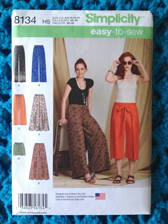 4ff75e91befe Palazzopantskirt Sewing PatternShortsPantsWide legs pants